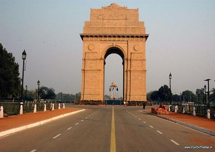 india gate Delhi
