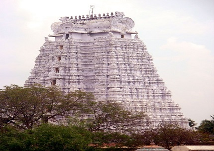 sri ranganathar gopuram north east temple india