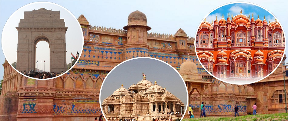 Golden Triangle Holiday Tour en India con Khajuraho Jhansi Orcha y Varanasi