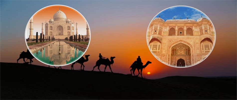 Golden Triangle Holiday Tour con la ciudad Patrimonio de Rajasthan India